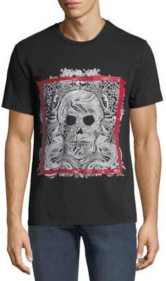 Just Cavalli Men's Framed Skull Graphic T-Shirt