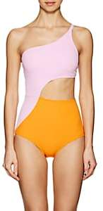 Flagpole Swim Women's Ali One-Piece Swimsuit-Pink, Orange, White