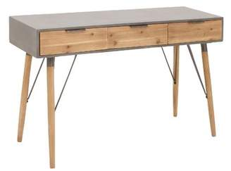 Cole & Grey Wood and Metal Console Table