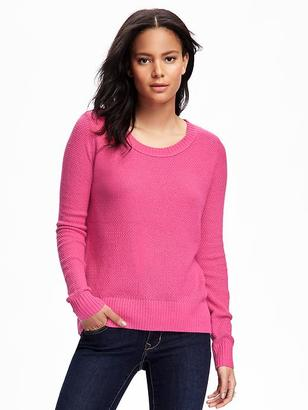 Hi-Lo Textured Pullover for Women $29.94 thestylecure.com