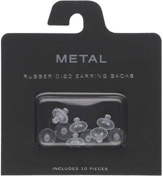 Rubber Disc Earring Backing Set