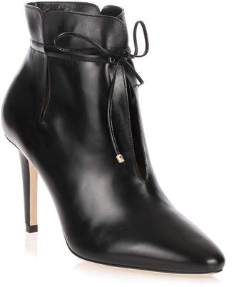 Jimmy Choo Murphy black leather ankle boot