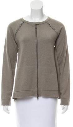 Brunello Cucinelli Long Sleeve Cashmere Sweater
