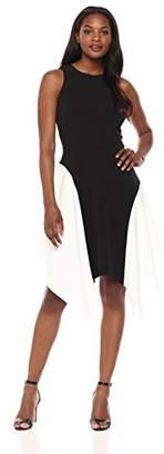 Maggy London Women's Mystic Crepe Color Block Fit and Flare