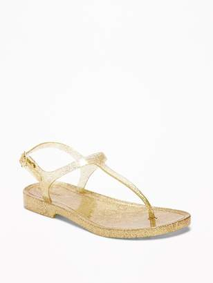 Old Navy T-Strap Jelly Sandals for Girls