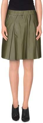 Pinko GREY Knee length skirts