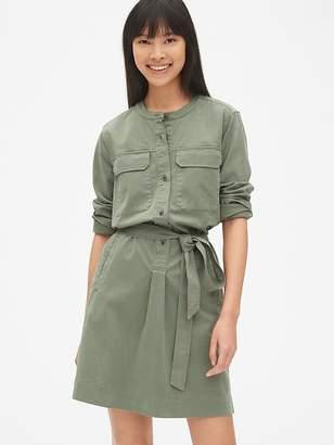 Gap Utility Pocket Shirtdress