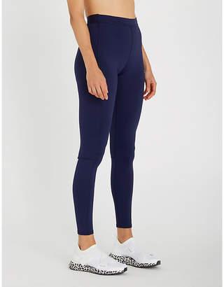 e7b4e56a1b863 Calvin Klein Reflective logo-detail stretch-jersey leggings