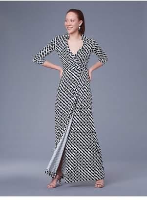 At Orchard Mile Diane Von Furstenberg Aail Silk Jersey Wrap Dress