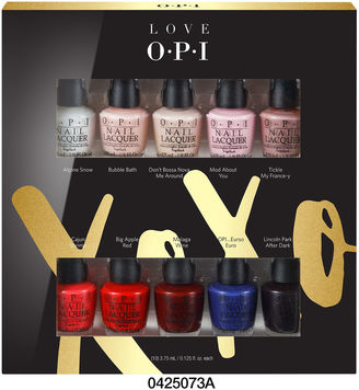 OPI PRODUCTS, INC. OPI Love Xoxo Mini 10-pc. Nail Polish