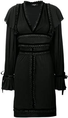 DSQUARED2 embellished empire dress