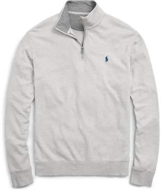 Ralph Lauren Cotton-Blend Half-Zip Pullover