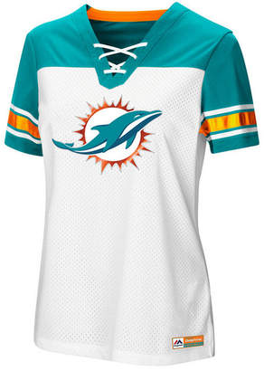 Majestic Women's Miami Dolphins Draft Me T-Shirt 2018