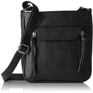 Bueno of California Zip Pocket Tech Cross Body with Phone Charger in