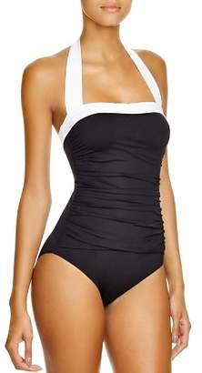 Ralph Lauren Bel Aire Maillot One Piece Swimsuit