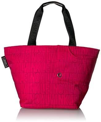 Calvin Klein Athliesure Quilted Nylon E/W Tote Tote Bag