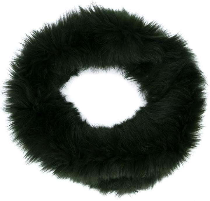Plein Sud fox fur scarf