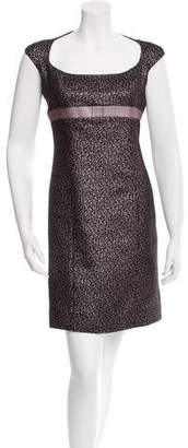 Martin Grant Metallic Sheath Dress