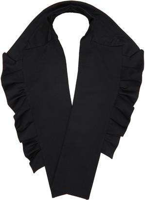 Comme des Garçons Girl Black Lapel Scarf $380 thestylecure.com