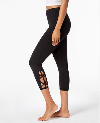 Gaiam Om High-Rise Cutout Capri Yoga Leggings