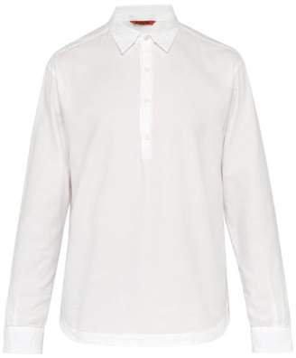 Barena Venezia - Livenza Long Sleeve Cotton Pique Shirt - Mens - White