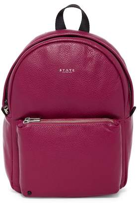 STATE Bags Mini Lorimer Leather Contrast Backpack