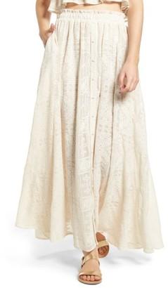 Women's Tularosa Stella Maxi Skirt $148 thestylecure.com