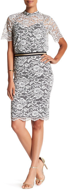 Trina Turk Paltrow Lace Skirt