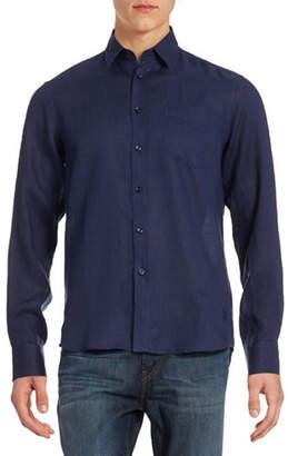 Vilebrequin Solid Linen Shirt