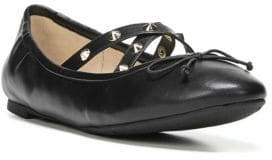 Sam Edelman Cayenne Leather Stud Ballet Flats