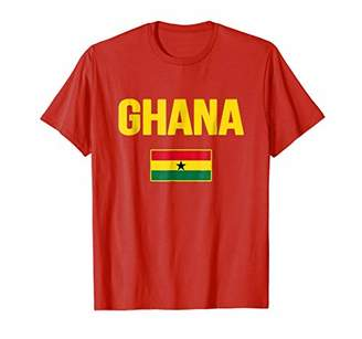 Ghana T-shirt Ghanaian Flag Souvenir Travel