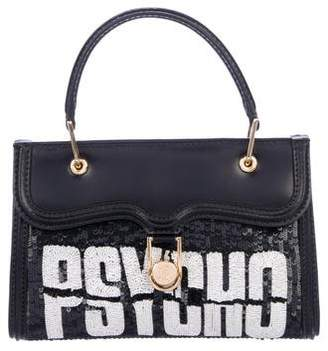 Olympia Le-Tan Mini Embellished Leather Pyscho Bag