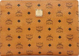 MCM Zip Pouch In Visetos Original