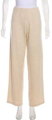 TSE High-Rise Silk Cashmere-Blend Pants