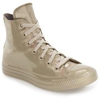 Women's Converse Chuck Taylor All Star Metallic Water Repellent High Top Sneaker $74.95 thestylecure.com