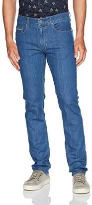 Bugatchi Men's Cotton Blend European Fit Duccio Jeans