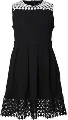 Dorothy Perkins Womens *Izabel London Curve Black Skater Dress