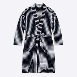 J.Crew Knit cotton robe