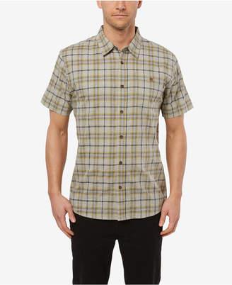 O'Neill Men Static Plaid Short Sleeve Shirt