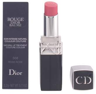 Christian Dior Rouge Baume Natural Lip Treatment # 568 Rose Rose for Women, 0.11 Ounce