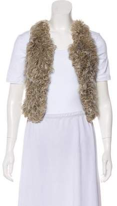 Isabel Marant Knit Shearling Vest w/ Tags