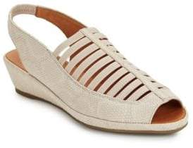 Kenneth Cole Gentle Souls by Lee Leather Slingback Sandals
