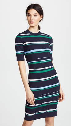 Jason Wu Grey Striped Knit Dress