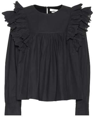 Etoile Isabel Marant Isabel Marant, Étoile Matias embroidered cotton shirt