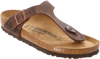 Birkenstock Gizeh Birko-Flor Oiled Leather Sandal