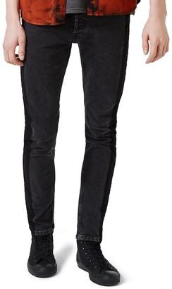TOPMAN Side Stripe Skinny Jeans $85 thestylecure.com