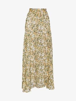 Isabel Marant floral print maxi skirt