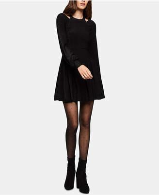 BCBGeneration Cutout Fit & Flare Dress