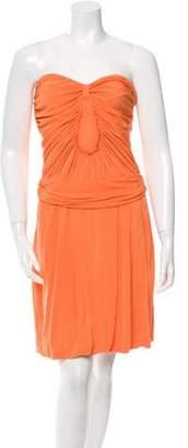 Yigal Azrouel Strapless Mini Dress