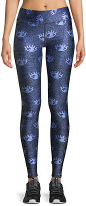 Terez Tall Band Full-Length Printed Performance Leggings